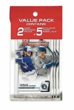 2020 Bowman Baseball Factory Sealed Retail Cello Value Pack Camo Exclusive