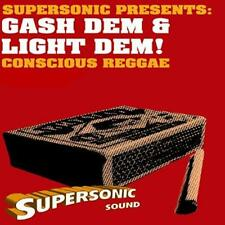 SUPERSONIC GASH DEM & LIGHT DEM CONSCIOUS REGGAE MIX CD