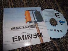 EMINEM THE RAL SLIM SHADY CD SINGLE 2000 PROMO SPAIN