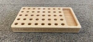 Reloading Block, 223, Red Oak, Bullet Tray