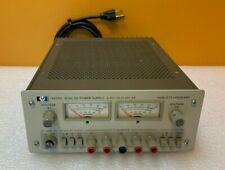 Hpagilent 6205c 20 V 06 A 40 V 03 A 20 W Dual Dc Power Supply Tested