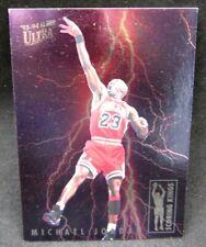 Michael Jordan 1993-94 Fleer Ultra Lightning Scoring Kings Card#5!Bulls G HOF