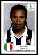 Panini Champions League 2001-2002 Edgar Davids Juventus No. 142