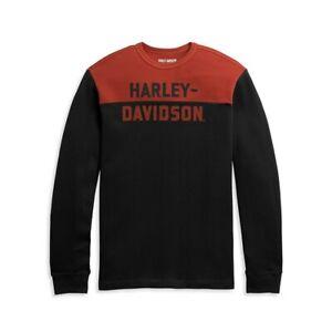 96314-21VM HARLEY DAVIDSON COLORBLOCK KNIT PULLOVER  *NEW*