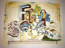 Burlesque Flatstock Austin 2006 Aaron Horkey  Poster Art Print Free Shipping US