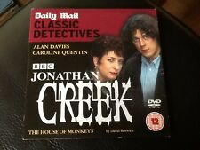 JONATHAN CREEK . THE HOUSE OF MONKEYS . ALAN DAVIES  . Classic comedy detective.