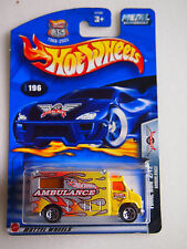 Hot Wheels 2002 METAL COLLECTION FINAL RUN 2/12 AMBULANCE METAL COLLECTION