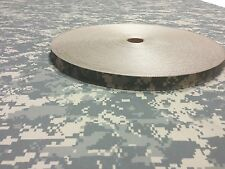 "Webbing Fabric ACU Camo 1""Inch USA Military Spec 100' Foot Roll Outdoor #10"
