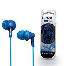 Panasonic RP-HJE125E In-Ear Only Headphones - Blue