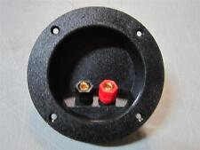 NEW Round Input Speaker Terminal.Cup Wire Cable Box Connector.Subwoofer connect
