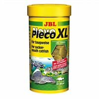 JBL NovoPleco XL 250ml-Algenchips Fischfutter Welse Grünfuttertabletten Welstabs