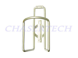 New MTB Road Bicycle Bike Alloy Bottle Cage Satin Silver