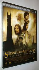 COFFRET 2 DVD LE SEIGNEUR DES ANNEAUX 2 - LES DEUX TOURS - 2002