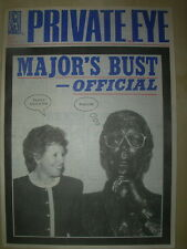 PRIVATE EYE MAGAZINE No 825 JULY 30 1993 MAJOR'S BUST - OFFICIAL