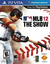 New! MLB 12: The Show  (PlayStation Vita, 2012) - U.S. Retail Version!