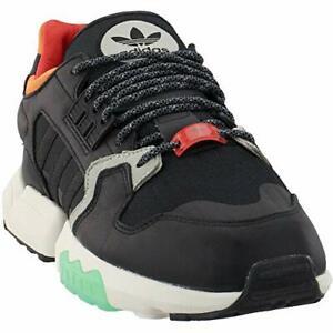 Adidas Men's ZX Torsion Casual Sneakers, Core Black/Orange/Bold Green