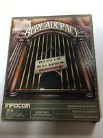 "Bureaucracy IBM PC Software, 5 1/4"" Disk Vintage Infocom 1987 Pre Owned"