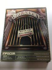 "Bureaucracy IBM PC Software, 5 1/4"" Disk Vintage Infocom 1987 Pre Owned"