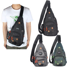 Mens Womens Sling Bag Cross Chest Shoulder Pack Travel Small Backpack KW Knight
