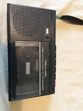realistic Voice Actuated Cassette Tape Recorder ctr model 14-1056