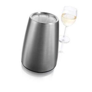 Vacu Vin Rapid Ice Elegant Wine Cooler - Stainless Steel (Retails For $40)