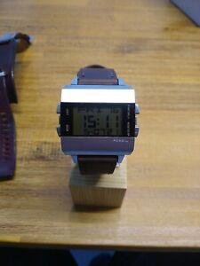 Fossil Herrenchronograph Uhr, JR9120 , neues Band, neue Batterie, alte selten