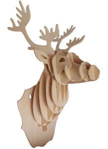 Deer Head     QUAY Woodcraft Construction Kit FSC