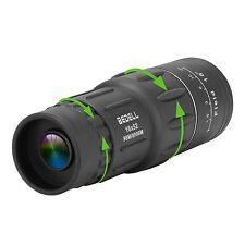 16x52 HD Optical Monocular Day&Night Vision Hunting Camping Hiking Telescope