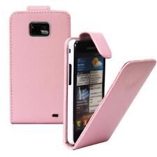 Para Samsung Galaxy S2/i9100 Móvil Funda con Tapa Fucsia