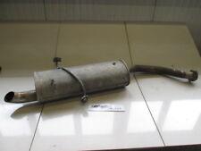 ALFA ROMEO 166 2.4 JTD 100KW 6M (1998 - 2003) RICAMBIO TUBO SCARICO POSTERIORE C