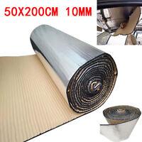 10mm Firewall Sound Deadener Car Heat Shield Insulation Deadening Material Mat