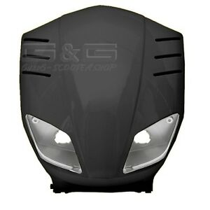 Front Fairing Black tnt For Yamaha Slider MBK Stunt 50cc