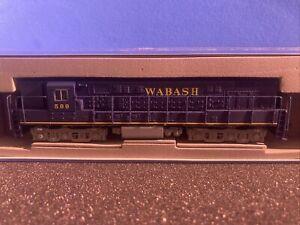 n scale atlas locomotive diesel dcc 51699 wabash #599