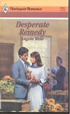 Desperate Remedy by Angela Wells (1988, Paperback)