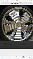 Used 20 in omega zab judda rim new tire