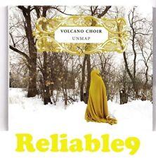 Volcano Choir - Unmap CD Digipak Original edition 9tracks Rare- 2009 Jagjaguwar