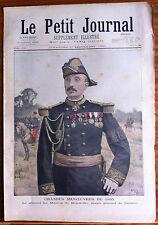 Le petit Journal illustré 1/09/1895; Le général Le Mouton de Boisdeffre