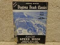 Daytona Beach Classics Program Feb. 20, 1955