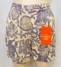 Authentic Vivienne Westwood Red Label Triffids Print Shorts Sz. 44 NWT $575