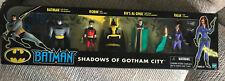 BATMAN ANIMATED SHADOWS OF GOTHAM CITY BOX SET NEW HASBRO 2001