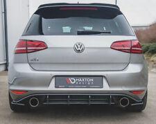 VW Golf 7 GTI Heckansatz Heck Diffusor Cup DTM Golf VII Clubsport Flaps V2 RS2