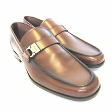 Salvatore Ferragamo Men's Leather Loafers & Slip Ons Medium (D, M) Casual Shoes