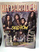Hit Parader August 1989  Guns N Roses, Def Leppard. Aerosmith, Badlands...
