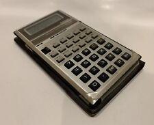 Vintage Casio fx-330 Scientific Calculator With Original Case Holder Tested