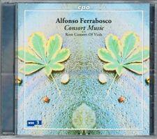 Alfonso FERRABOSCO Consort Music Fantasia In Nomine ROSE CONSORT OF VIOLS CPO CD