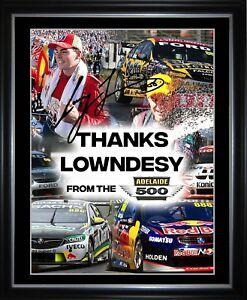 Thanks Lowndesy Craig Lowndes Framed Memorabilia