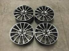 "19"" AMG Twist Style Wheels Gun Metal Machined Mercedes C Class W204 W205 W212"