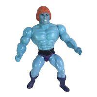 FAKER Blue He-Man Masters of the Universe MOTU Mattel Vintage Figure Soft Head