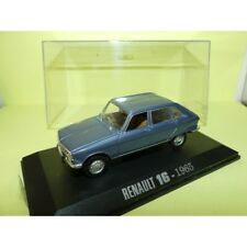 RENAULT 16 1965 Bleu UNIVERSAL HOBBIES Collection M6 1:43