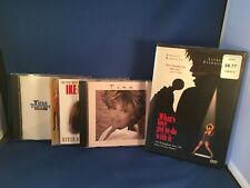 Lot Of 4 Tina Turner CD And DVD Lot What's Love Got To Do With It